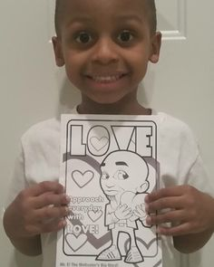 Well look who has their #MrEColoringBook!!