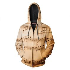 Do you love music?? If yes, you NEED one of this!!! NEW!!! Musical Notes ZipUp by Yo Vogue Clothing - This beautiful zip-up hoodie is made using an extremely soft garment and HD Photographic Printing Technology. The fine mixture of polyester and cotton allow us to print high definition images and create unique, fresh and innovative products. Just $64.95 from yovogueclothing.com Stand out from the crowd - Yo Vogue Clothing! Use code PINFAN and get 10% discount on your purchase today!!!