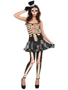Day of The Dead - Angels Fancy Dress Costumes
