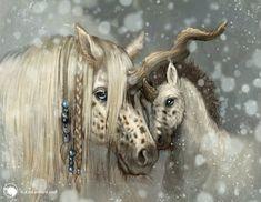 The Year of the Unicorn: February by kirileonard