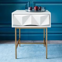 Sculpted Geo Side Table | west elm AU