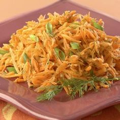 Lemony Carrot Salad with Dill - EatingWell.com