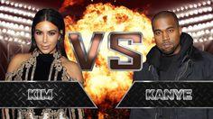 Kim Kardashian VS Kanye West YouTubers Decide
