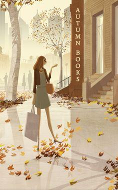 "matthieuforichon: """"Autumn Books"" - Wall Street Journal @WSJ """