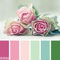 Romantic Rose #patternpod #patternpodcolor #color #colorpalettes