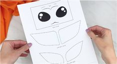 Make this adorable and easy Baby Yoda craft for kids! It's great for Star Wars and Mandalorian fans, plus it comes with a free printable template! Make it with preschool, kindergarten and elementary children. Art For Kids, Crafts For Kids, Star Wars Crafts, Paper Bag Puppets, Paper Bag Crafts, Puppets For Kids, Puppet Crafts, Alphabet Crafts, Star Wars Kids
