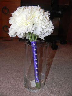 How to make silk flower boutonniere wedding boutonniere diy how to make silk flower boutonniere wedding boutonniere diy flowers green purple silk flowers dscn2071 one day pinterest wedding boutonniere mightylinksfo
