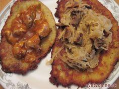 Plnené zemiakové placky, recept