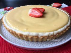 Křehký koláč s tvarohem a citronovým krémem Cooking Tips, Cooking Recipes, Mini Cheesecakes, Cake Recipes, Food And Drink, Sweets, Baking, Desserts, Blog