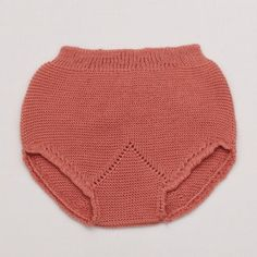 Knitted Bloomer – Vintage Pink