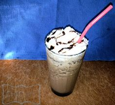 Homemade Chocolate Chip Frappe