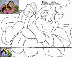 Artes Ana Vilela : riscos de pintura 4 Tole Painting, Fabric Painting, Lady Bug, Cute Animal Clipart, Applique Quilt Patterns, Kids Art Class, Hand Embroidery Designs, Coloring Book Pages, Painting Patterns