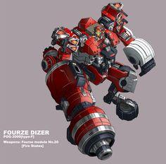 Fourze Dizer Fire States