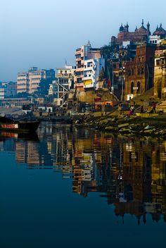 Varanasi, India. Waiting for this moment long time.