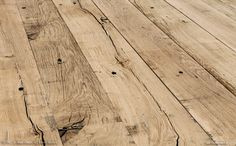 Old oak planks / boards Reclaimed Oak Flooring, Wooden Flooring, Wooden Floor Tiles, Scottish Cottages, Wood Floor Pattern, Interior Design Courses, Refinishing Hardwood Floors, Floor Ceiling, Wood Stone