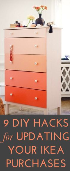 #DIY updates for your favorite IKEA furniture