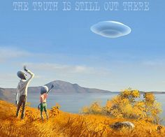 The truth is still out there  X-Files