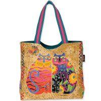 Laurel Burch handbag with cats Laurel Burch Fabric, Cat Bag, My Pool, Tote Purse, Bag Sale, Bag Making, Purses And Handbags, Fashion Bags, Reusable Tote Bags