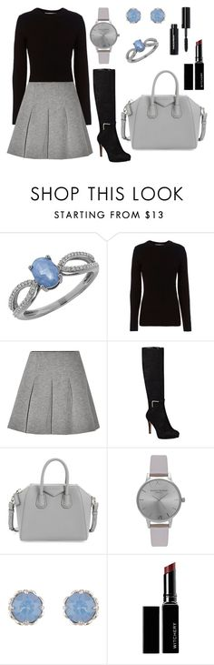 """""""out"""" by sofi-crea ❤ liked on Polyvore featuring Lord & Taylor, rag & bone, T By Alexander Wang, Nine West, Givenchy, Olivia Burton, Accessorize, Witchery and Bobbi Brown Cosmetics"""