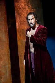 Gerald Finley, my favourite baritone, in Don Giovanni at the Royal Opera House.