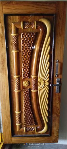 Wooden Sofa Designs, Wooden Main Door Design, Front Door Design, Bed Frame Design, Bed Design, House Design, Door Design Images, Door Design Interior, Victorian Interiors