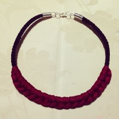 Red&black necklace
