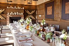 I would like to have a dinner party and design my table just like this...