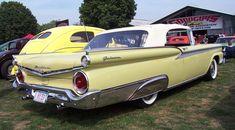 1959 Ford Galaxie Fairlane 500 Convertible.