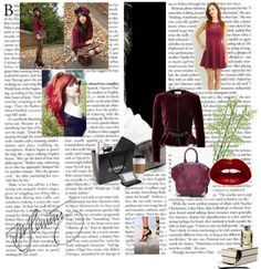 """Luxe Colours of Autumn ...Burgundy, Oxblood, Wine.."" by shopdailychic ❤ liked on Polyvore"