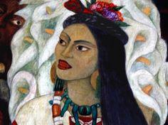 ¿Conoces la historia de la Malinche? Fue una indígena americana que sirvió como intérprete entre Hernán Cortés y los jefes indígenas