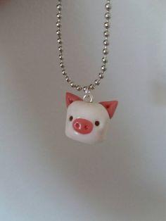 Piggy  https://www.etsy.com/listing/277585512/kawaii-piggy-marshmellow-polymer-clay