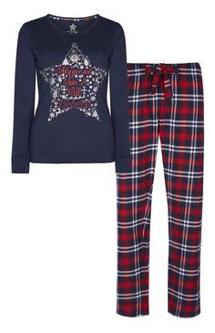 """Pijama """"Make A Wish"""" navideño - Primark - 12€"""