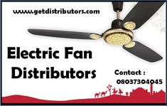 Getdistributors offers Consumer Electronics Distributors Business opportunities in Pan India. Companies looking for Distributorship of Electric Fan distributors and many more. #ElectricFandistributors #ElectricFandistributorship #ElectricFanwholesaledealer #ElectricFandealers #distributor Sales Agent, Electric Fan, Business Opportunities, Consumer Electronics, Opportunity, India, Goa India, Electric Cooling Fan, Indie
