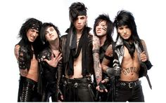 Black Veil Brides. I get a lot of crap for listening to them, but guess what? My music, my ipod. Andy Biersack also makes me happy to be from Ohio, aswell as Levi Benton, Max Green, and Elliott Gruenberg!