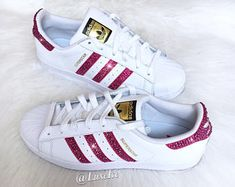 Designer Clothes, Shoes & Bags for Women Adidas Nmd R1, Pink Adidas, Adidas Sneakers, Adidas Originals Superstar, Logo Shoes, Shiny Shoes, Superstars Shoes, Pink Nikes, Slipper Boots