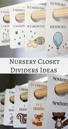 What a a clever way to organize a nursery closet. All baby clothes will be divided by size with these cute nursery closet dividers! PRINTABLE Closet dividers-Woodland Creatures closet dividers -Vintage Winnie the Pooh closet dividers - Baby Boy Closet Dividers - Nursery closet organization - Baby Room - Nursery Decor - Nursery Organization - Baby clothes Organization - Baby Shower Gift - modern nursery - mature nursery - instant download #afflink