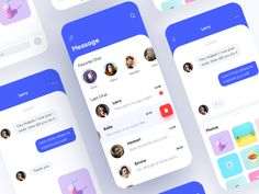 Chat interface designed by Hotpot for CoCo. Connect with them on Dribbble; the global community for designers and creative professionals. Ui Design Mobile, App Ui Design, User Interface Design, Android Design, Whatsapp Theme, App Design Inspiration, Mobile App Ui, Apps, Application Design