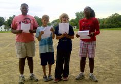 Homefront Hugs Teens practice for 9-11