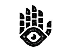 Eyes by David Sizemore Skeletal Hamsa... An image recognized and used as a sign of protection in many societies throughout history, the hamsa is believed to provide defense against the evil eye. The symbol predates Christianity and Islam.