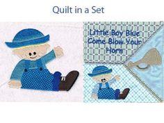 Little Boy Blue Machine Embroidery Designs http://www.designsbysick.com/details/lilboyblue