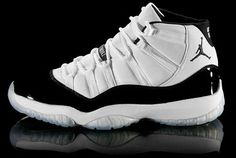 Air Jordan: Jordan XI...got these for XMAS from my Mama my senior year in High School... still in great condition and in the original box!