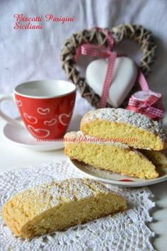 The Different Pastas in Italian Food Biscotti Biscuits, Biscotti Cookies, Biscotti Recipe, Great Desserts, Cookie Desserts, Cookie Recipes, Italian Cookies, Italian Desserts, Italian Meals