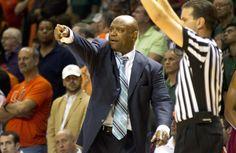 coach lenord hamilton | Former UM coach now FSU coach Leonard Hamilton barks out orders to his ...