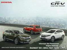 All New Honda CRV Luxurys With 7 Seaters 1.5 Turbo Earth Dream Tech
