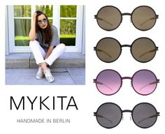 """""""MYKITA Sunglasses - Alice"""" by specscollective ❤ liked on Polyvore featuring Mykita"""