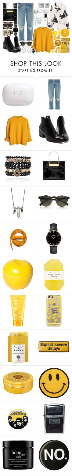 """""""Sin Titulo #131"""" by mila4321 ❤ liked on Polyvore featuring H2O+, rag & bone, Samantha Wills, Balenciaga, Lelativement, ZoÃ« Chicco, Carven, Urbanears, CLUSE and Bitossi"""