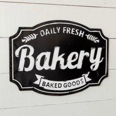 Daily Fresh Bakery Sign