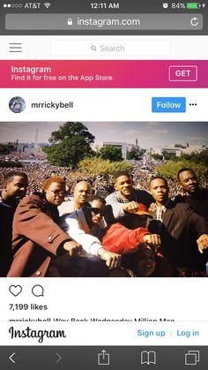BBD, Jazzy Jeff and Fresh Prince, Alphonso Roberio Million Man March