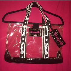 Betseyville tote. I think there used to be some kind of lining, but that's long gone. Tag included. Considering all offers. Betsey Johnson Bags Totes