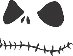 Jack Skellington Printable Cut Out And Trace And Draw In